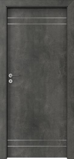 Porta LINE beton